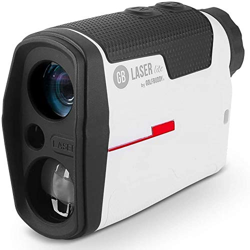 Golf Buddy Laser Lite Rangefinder with Slope, Golf Distance Range Finder, Fast, Clear & Accurate Measurement with Vibration Alert, 3 Targeting Mode, 6X Magnification, Wide LCD Display