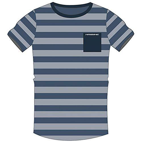 HAIBIKE - Maglietta da Uomo Lit, Uomo, Maglietta da Uomo, 9505230024, Blu, XL