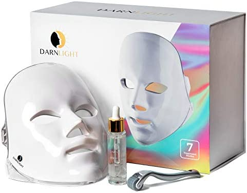 Darnlight LED Light Therapy Mask 7 Color LED Face Mask Light Therapy Technology Blue Red Light product image