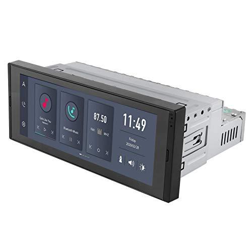 Navegación GPS para coche, sistema de navegación GPS WIFI universal de 6,9 pulgadas para Android 10,0 Radio estéreo Bluetooth con pantalla táctil completa(2 + 32G)