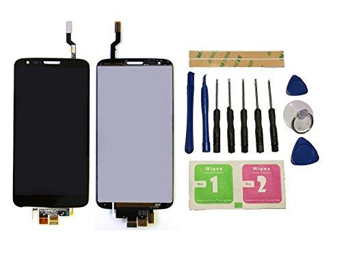 Flügel para LG Optimus G2 D802 Pantalla LCD pantalla Negro Táctil digitalizador Asamblea Pantalla ( sin marco ) de Recambio & Herramientas