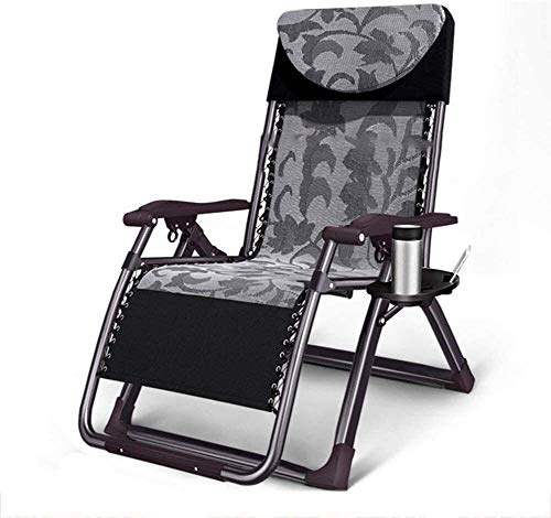 DSHUJC Reclining Armchairs, Armchairs, Chairs Folding Folding Cot Reclining Deck Chair Reclining Garden Chair Backrest Rest