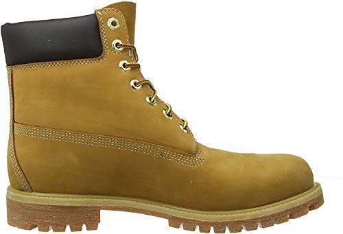 Timberland Damen 6 Inch Premium Waterproof Stiefel, Gelb (Wheat Nubuck), 38 EU