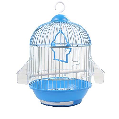 Love lamp waterdicht huisdierbed ronde kleine vogelkooi smeedijzer-metalen vogelkooi tijger-huid-parel-Papegei-acacia-vogelkooi huisdieraccessoire