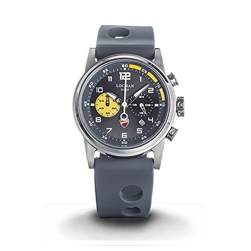 Locman Watch Ducati mens chrono Steel CASE 42 mm