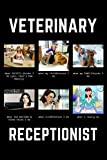 Veterinarian Receptionist: Funny Thank You Meme Notebook Gift Idea For Amazing Hard Working Employee - 120 Pages (6' x 9') Hilarious Gag Present