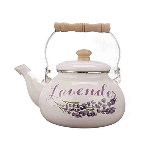 Household Products - Kettle - Tea DE ESMALLO DE EMBENDO - Cocina de inducción de Gas de hervidor de Caldera General 25L / Código de Productos básicos: LJW-12