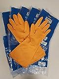 Dstock60-10 Paires de gants Étanches pour le ménage, la vaisselle, la cuisine, le linge,...