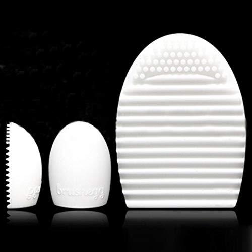 N-brand Gant de nettoyage en silicone pour maquillage Brosse de lavage Scrubber Board Cosmetic Clean White élégant et populaire