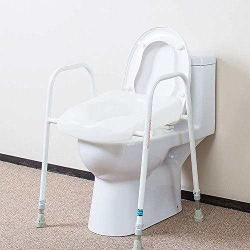 Duschkommode Stuhl, Badezimmer Sicherheit Toilette Sicherheitsrahmen Freistehende Toilette Badezimmer Handlauf
