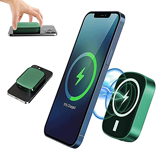Kettles Banco de energía inalámbrica 10000mAh Cargador Segura 15W Cargador rápido Caja de batería magnética Compatible con teléfono 12/12 Mini / 12 Pro / 12 Pro MAX