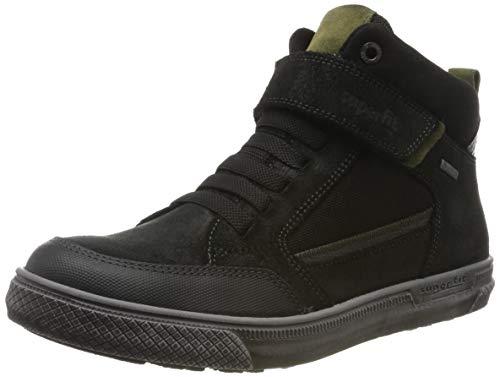 Superfit Jungen Luke Gore-Tex 509200 Hohe Sneaker, Schwarz (Schwarz 00), 35 EU