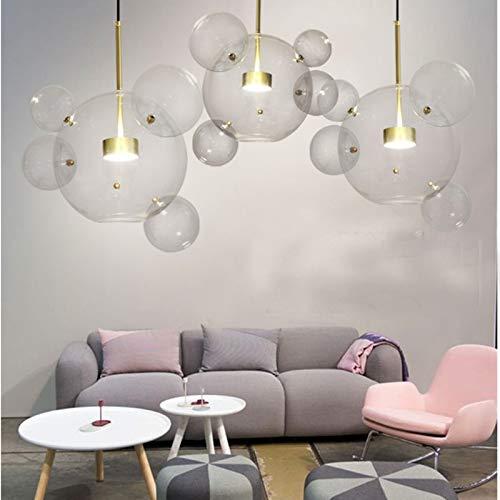 Lámparas LED de techo modernas con luz LED Lámpara de 30W Bola...