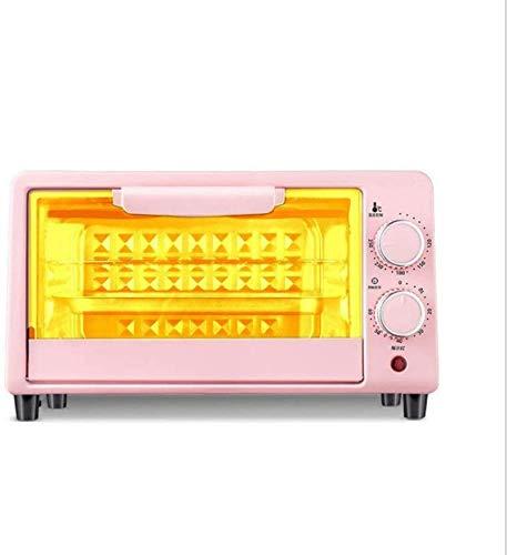 Potencia eléctrica del horno, cámara de cocción 12L, ideal para cocinas pequeñas, vidrio ultra compacto, transparente, temperatura ajustable