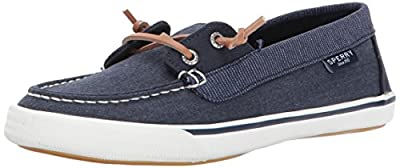 Sperry Womens Lounge Away Sneaker, Navy, 9