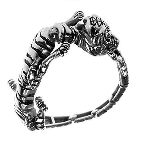 Edelstahl Armband als Tiger, Tigerfell, Raubkatze, High End!