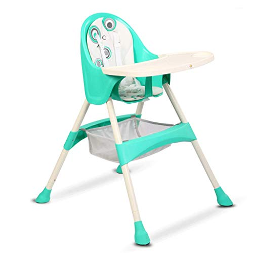 Buy Discount Highchairs Children's Dining Chair Plastic High Chair Multi-Function Portable Baby Seat...