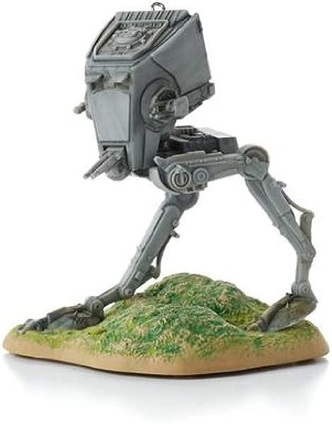 All Terrain Scout Transport AT ST Star Wars Return Of The Jedi 2013 Hallmark Ornament