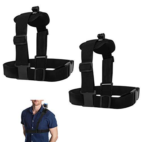 2 PCS Tracolla Supporto Spalla Harness Mount Singolo Tracolla Pettorale Kit GoPro per Gopro Hero 8 7 6 5 Sj4000 Sj5000 Sj6000 Sj7000 Sj8000 Xiaoyi Cam