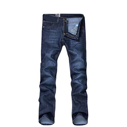 Snakell Herren Winterjeans Straight Jeans Männer Slim Fit Denim Hose Thermojeans Herrenhose Jeans Stretch Jeanshosen Lange Jeanshose Chino Hose Tapered Fit Hose Skinny Fit Herrenjeans Jungen Jeans