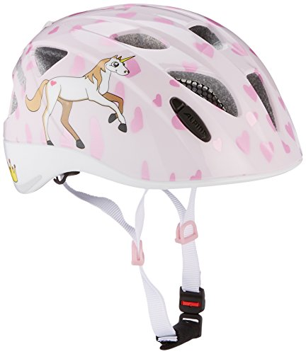 Alpina Casco da bici per bambini Ximo Flash, Bambini, Radhelm Ximo Flash, principessa, 49-54
