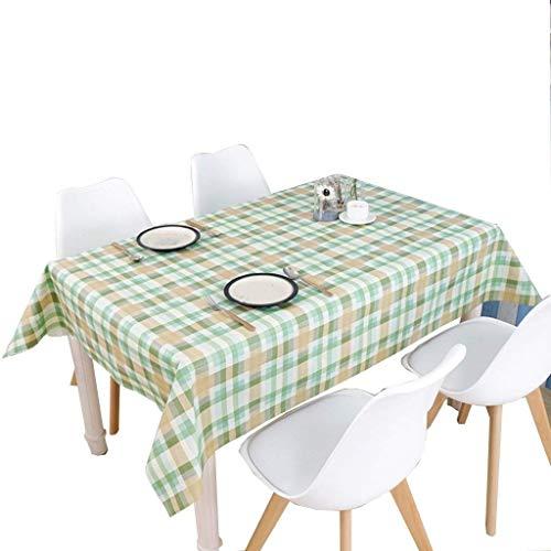 wasserdichte Isolierung Anti-Verbrühungs-PVC-Picknicktisch-Abdeckung für Feiertags-Abendessen-Partei (Farbe: Grün, Größe: 137 * 170CM)