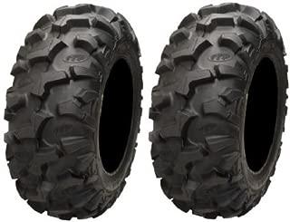 Pair of ITP Blackwater Evolution Radial 28x10-14 (8ply) ATV Tires (2)