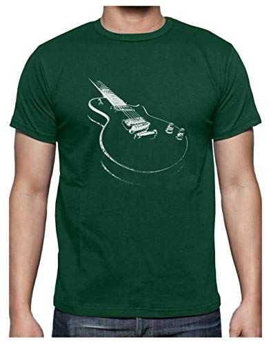 Camiseta para Hombre - Camisetas Guitarra Electrica Camisetas Hombre Rock -