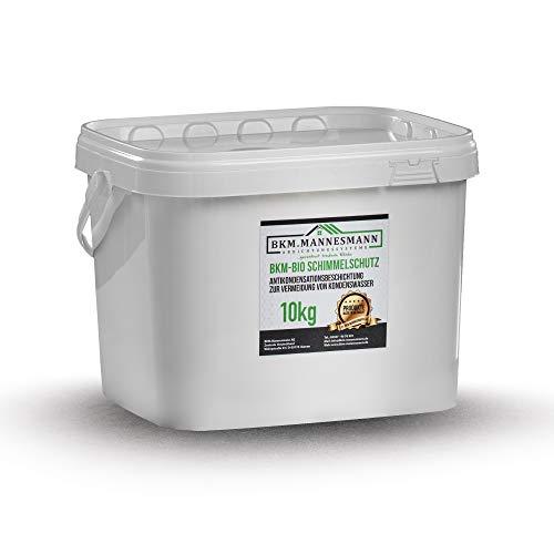 BKM.Mannesmann Bio Schimmelschutz (10kg) I Anti-Schimmel Beschichtung für einen effektiven & langanhaltenden Schutz vor Schimmel an Wänden I Allergieneutrale & Ökologische Schimmelschutzfarbe