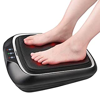 RENPHO Foot Massager with Soothing Heat, Shiatsu Electric Foot Massager, Deep Kneading Heated Feet Back Massager, Relieve Pain & Stress of Foot and Back Fit All Size Feet, Fathers Day Gift (B07L8PW81Z) | Amazon price tracker / tracking, Amazon price history charts, Amazon price watches, Amazon price drop alerts