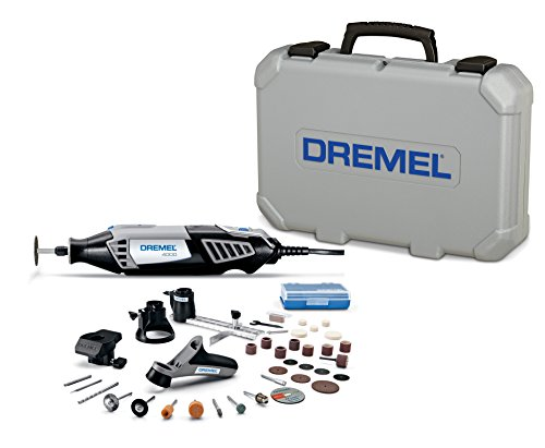 Dremel 4000-4/34 Variable Speed Rotary Tool Kit - Engraver, Polisher, and Sander- Perfect for...
