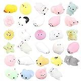 29 Piezas Mochi Squishy Toys, ZoneYan Kawaii Squishy, Squishies de Animales Y fruta, Squishy...