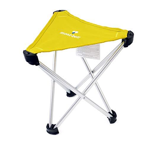 [モンベル] mont-bell トレールチェア 26 アウトドアチェア 超軽量 折りたたみ 座面高26cm 耐荷重80kg コンパクト キャンプ 椅子 (イエロー)