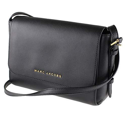 Marc Jacobs The Commuter Medium Crossbody Bag (Black)