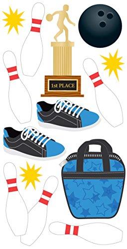 Bowling Essentials Aufkleber