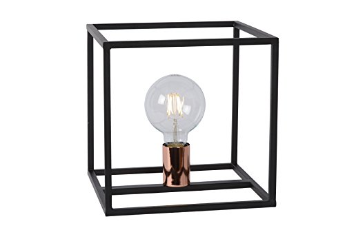 Lucide ARTHUR - Lampe De Table - Noir