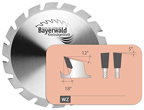 Bayerwald - HM Kreissägeblatt - Ø 700 mm x 4,2 mm x 30 mm   Flachzahn mit Fase (46 Zähne)   Kombinebenlöcher  