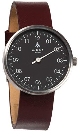 MAST MILANO SL203BK10-L-UNO - Reloj de Hombre monoaguja Ultra Slim