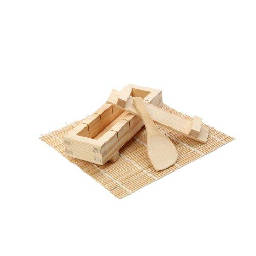 Dexam 17841090 Outils en bambou pour la confection de sushis