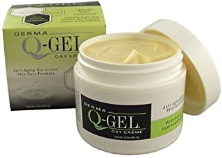 Derma Q-Gel Cream with Ubiquinol Active CoQ10 Anti-Wrinkle Skin Energizing Formula Paraben Free, 2 Ounce by Derma Q-Gel