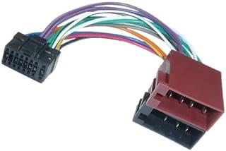 Adapter Universe Adaptador de Radio DIN ISO para Coche, Conector Compatible con Alpine CDA CDE RM R RB E RI CDM Flex