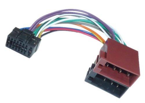 Adapter Universe Adaptador de Radio DIN ISO para Coche, Conector Compatible con...