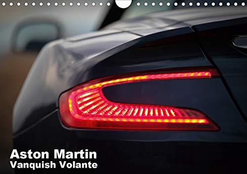 mächtig Aston Martin Vanquish Volante (Landschaftswandkalender 2021 A4)
