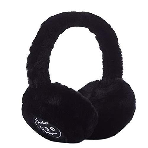 Bluetooth Earmuff Warm Plush Wireless Music Earmuffs Unisex for Women Men
