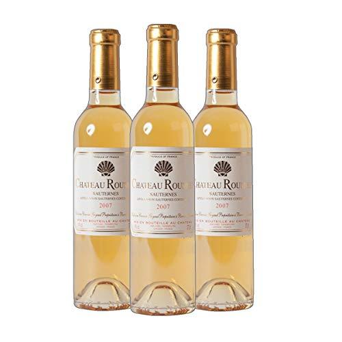 Sauternes AC Chateau Roumieu Dessertwein süß Frankreich 2016 lieblich (3x 0.375 l)