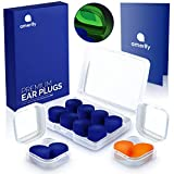 Ear Plugs for Sleeping, Earplugs for Sleep, Noise Cancelling Ear Plugs for Sleeping Earplugs Reusable Soft Silicone Ear Plugs Moldable Earplugs Sound Blocking, Swimming Ear Plugs 32dB Highest NRR