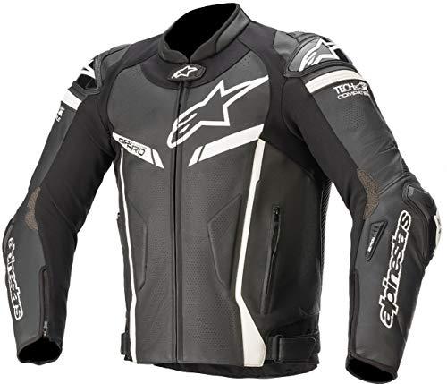 Alpinestars GP Pro V2 - Chaqueta de piel para moto, color negro...