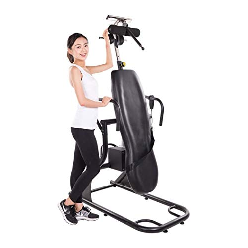 Sale!! ZDMSEJ Inversion Table Upside Down Assisted Yoga Fitness Heightening Equipment Upside Down Ma...