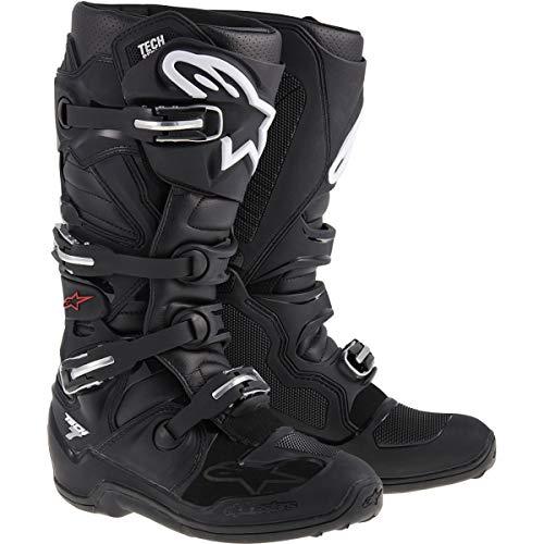 Alpinestars Unisex-Erwachsene Tech 7 Stiefel, Schwarz, Größe 44 (Mehrfarbig, Einheitsgröße)