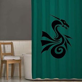 Right Canvas Green 180cm x 200cm Shower Curtain - RG138NPIC00032